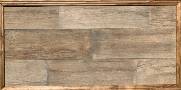 Country Barn Board Rustic Brown